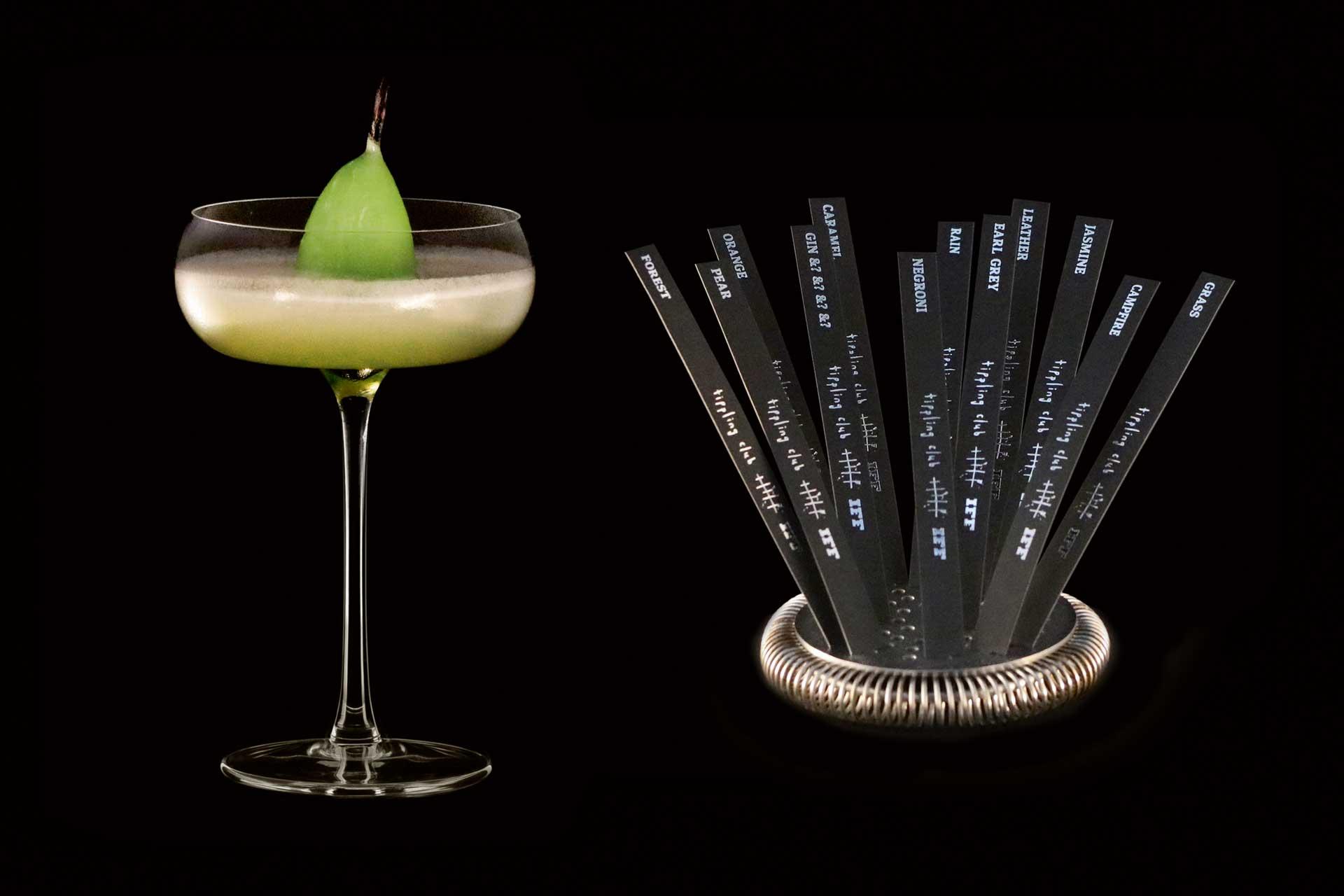 Pear cocktail from Joe Schofield's Sensorium cocktail menu