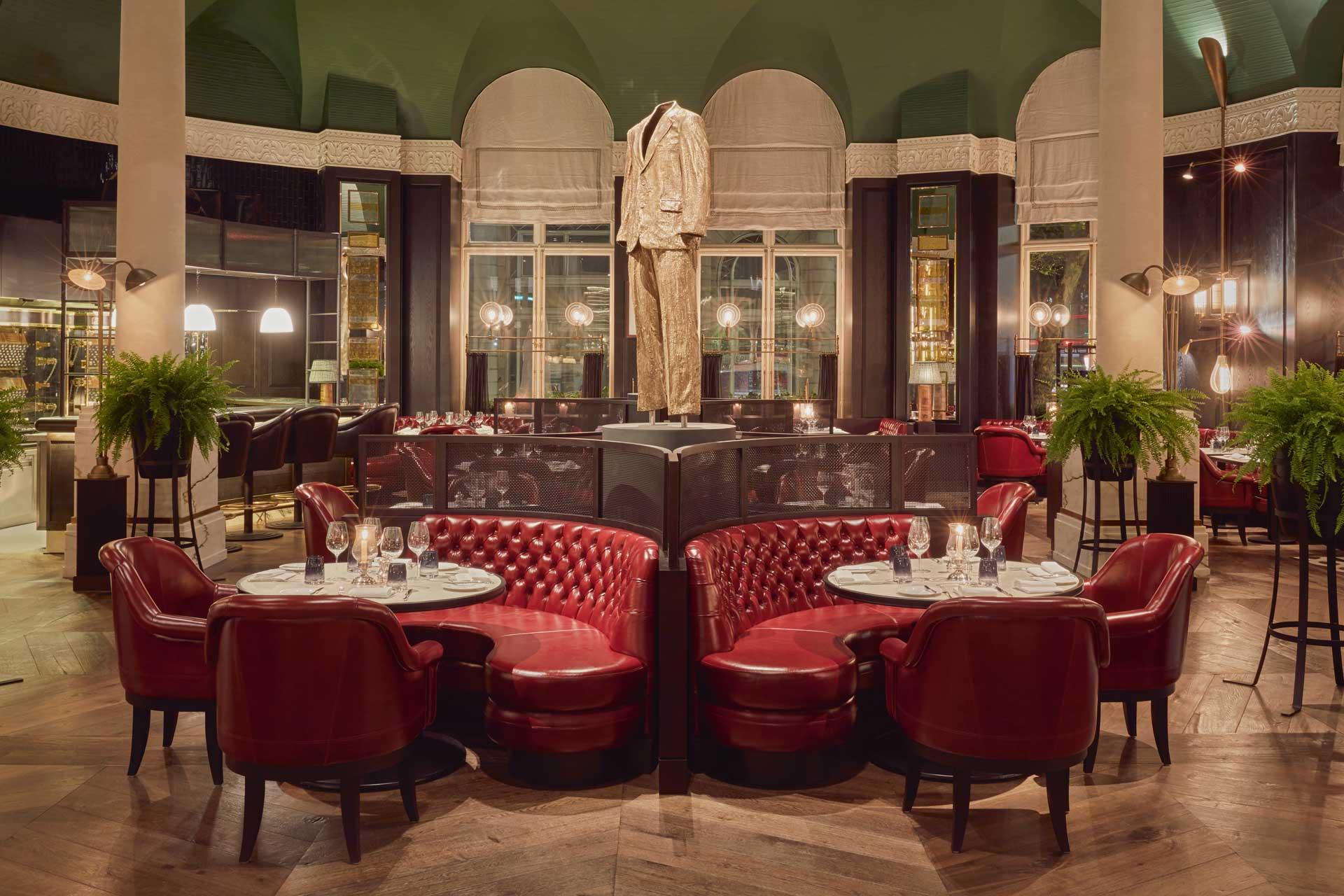 Kerridge's Bar & Grill restaurant in London's Corinthia Hotel