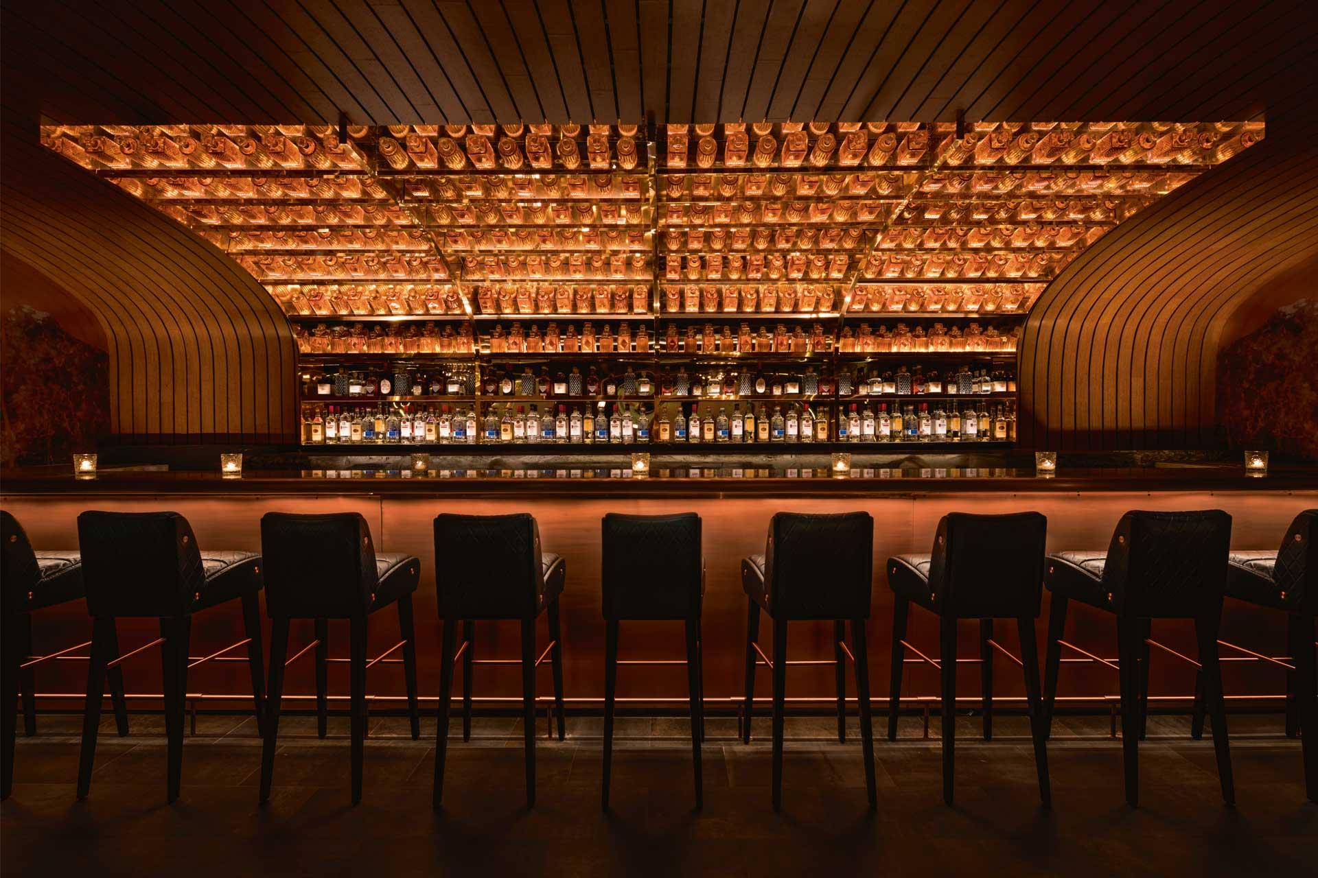Moxy East Village's Little Sister bar