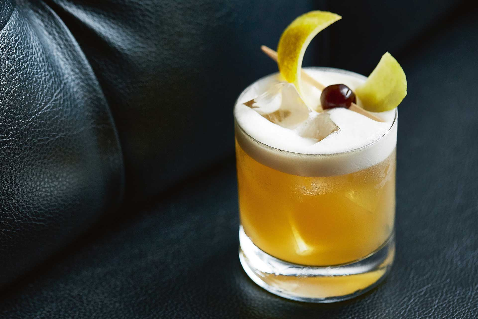 Bartender Jeffrey Morgenthaler's famous Amaretto Sour cocktail