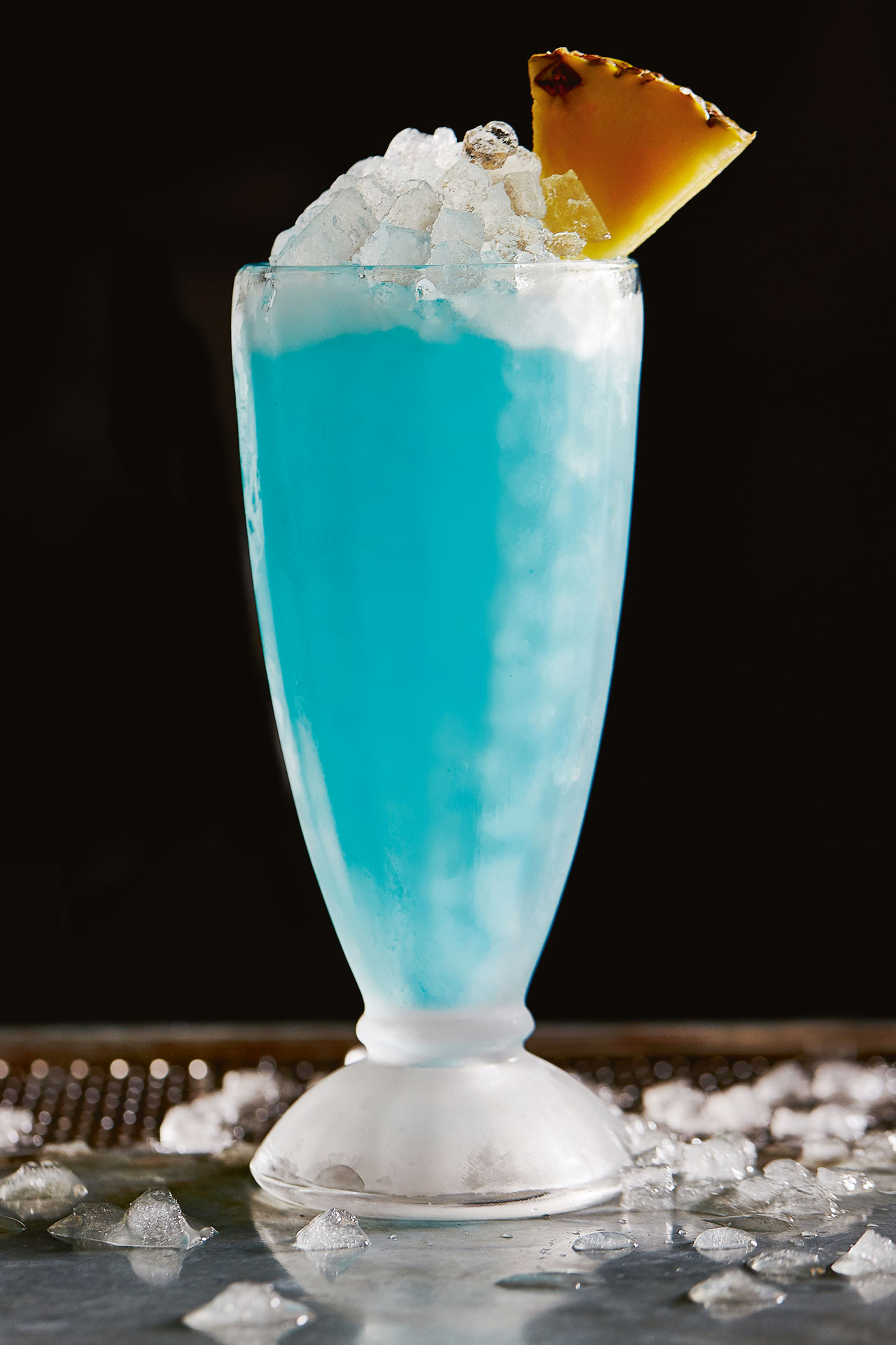The Blue Hawaii cocktail is one of Jeffrey Morgenthaler's signature serves