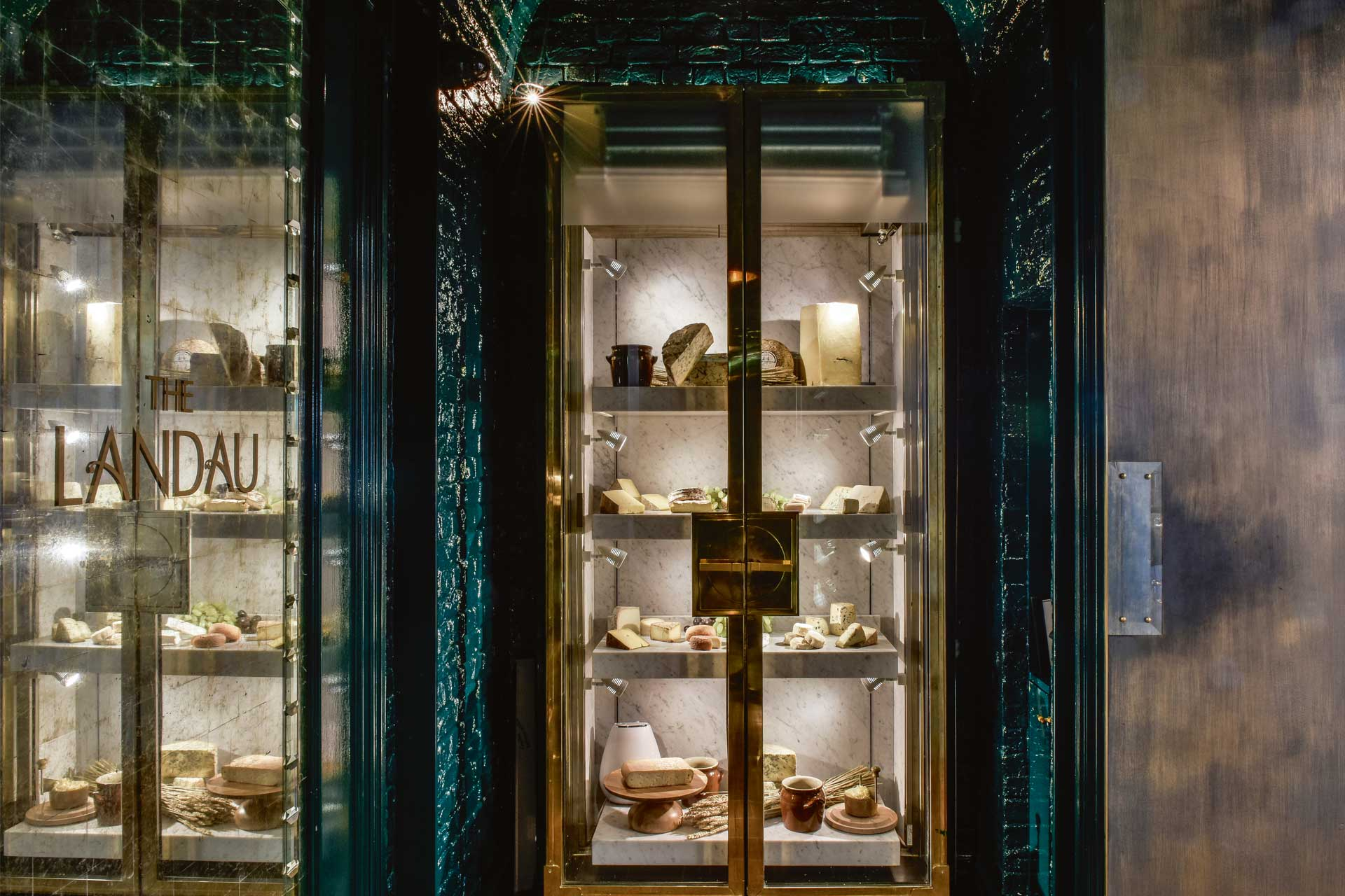 Roux at the Landau in The Langham has a bespoke cheese counter
