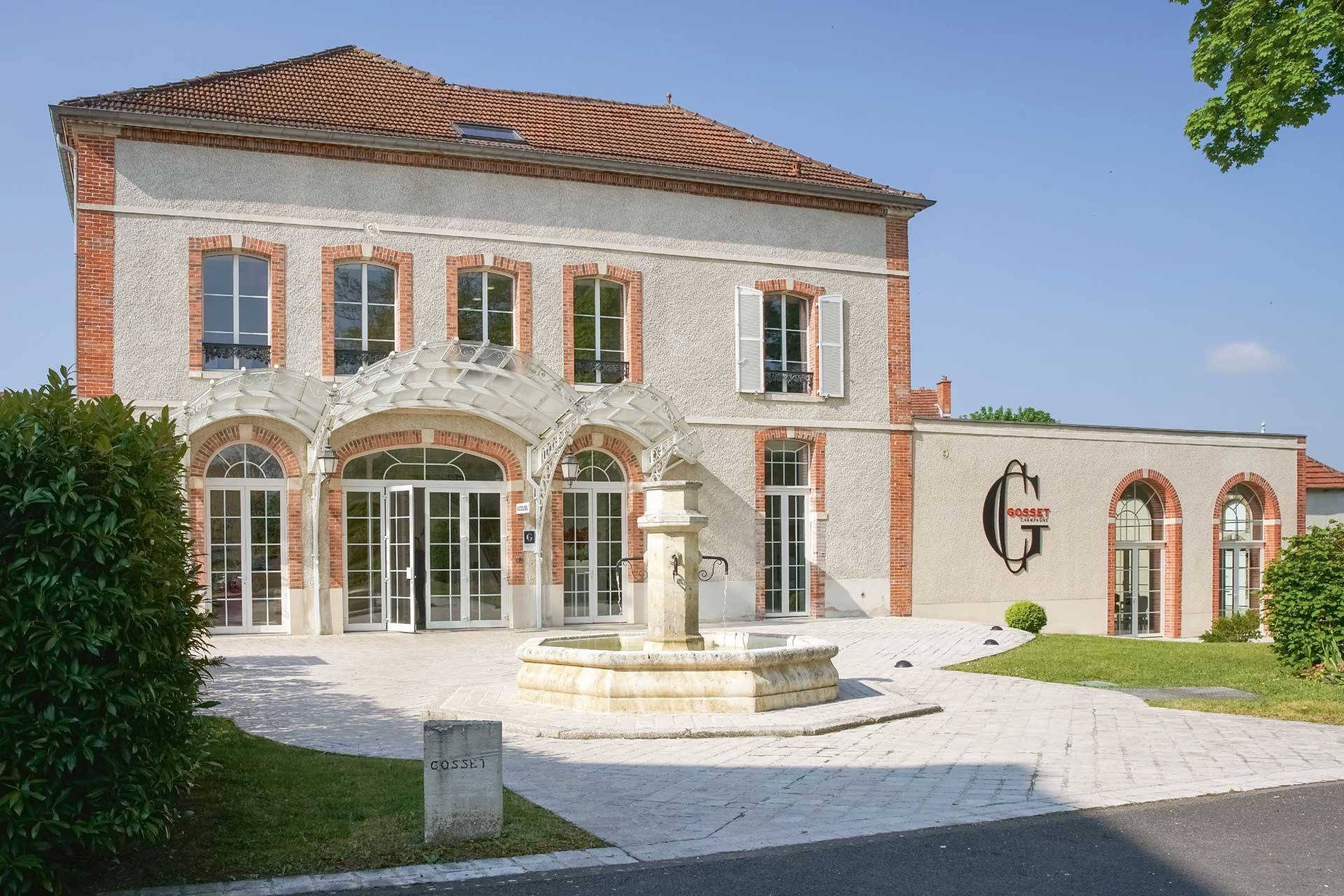 The home of champagne house Gosset
