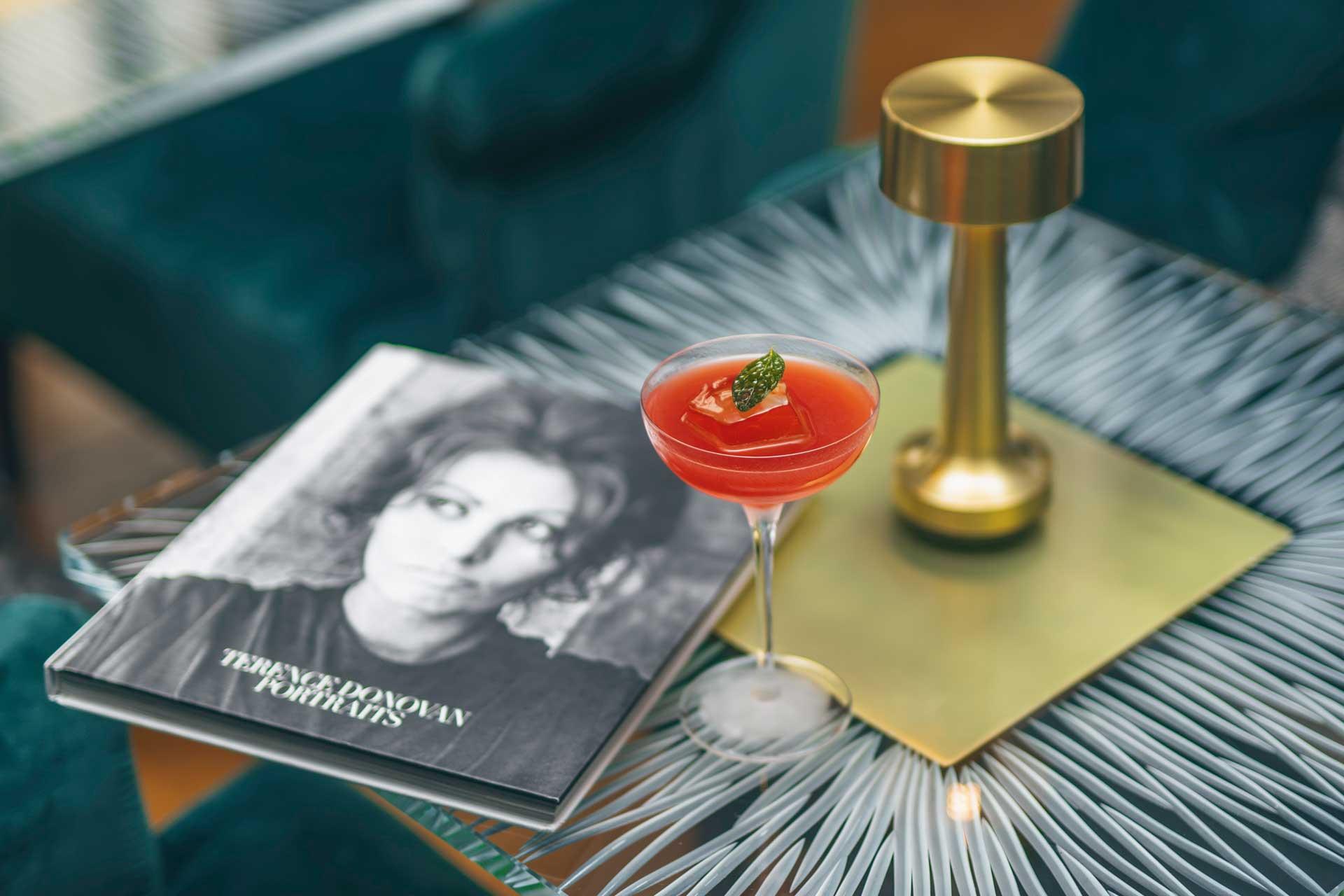 The Madam Loren cocktail is inspired by Italian actress Sophia Loren