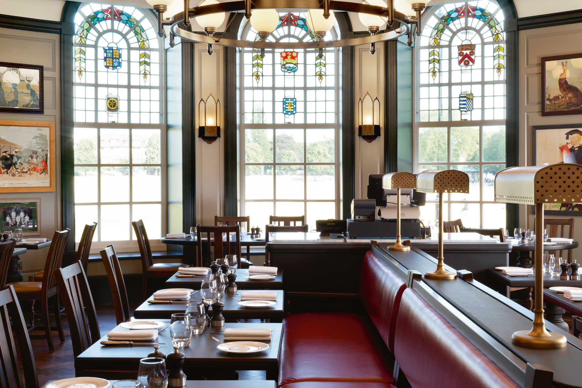 Parker's Tavern in Cambridge was designed by Martin Brudnizki Design Studio