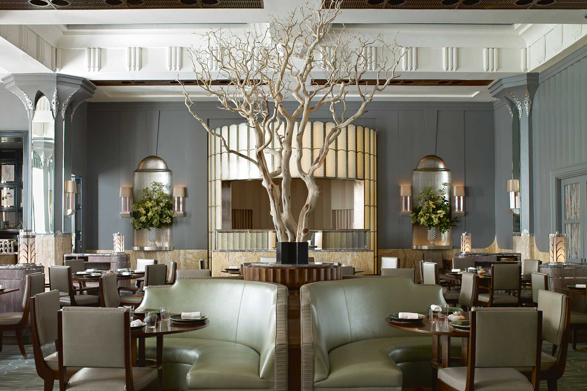Simon Rogan's Fera restaurant in iconic hotel Claridge's