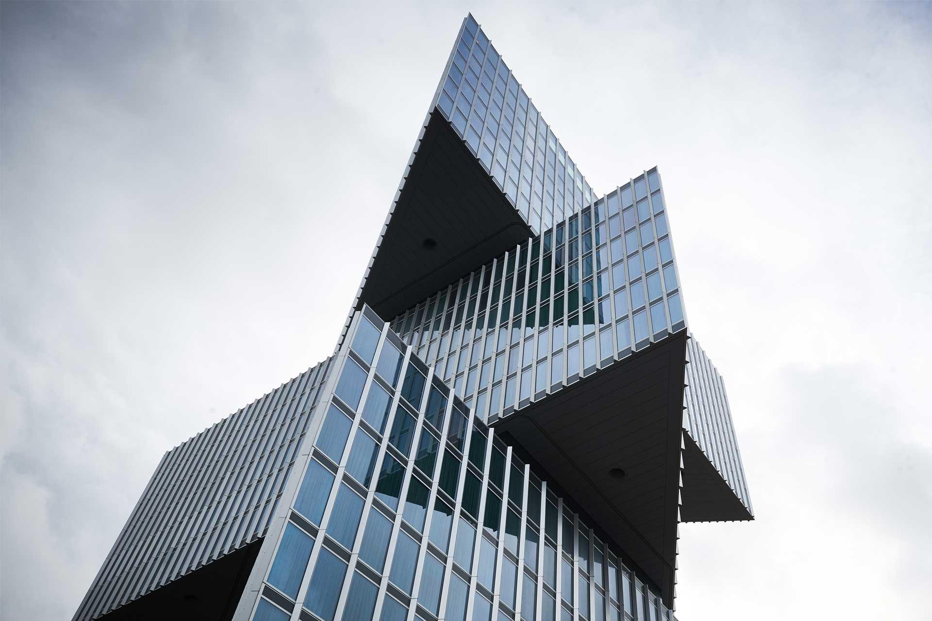 Exterior of Dutch hotel nhow Amsterdam RAI