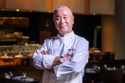 Japanese chef Nobu Matsuhisa at Four Seasons Hotel Doha