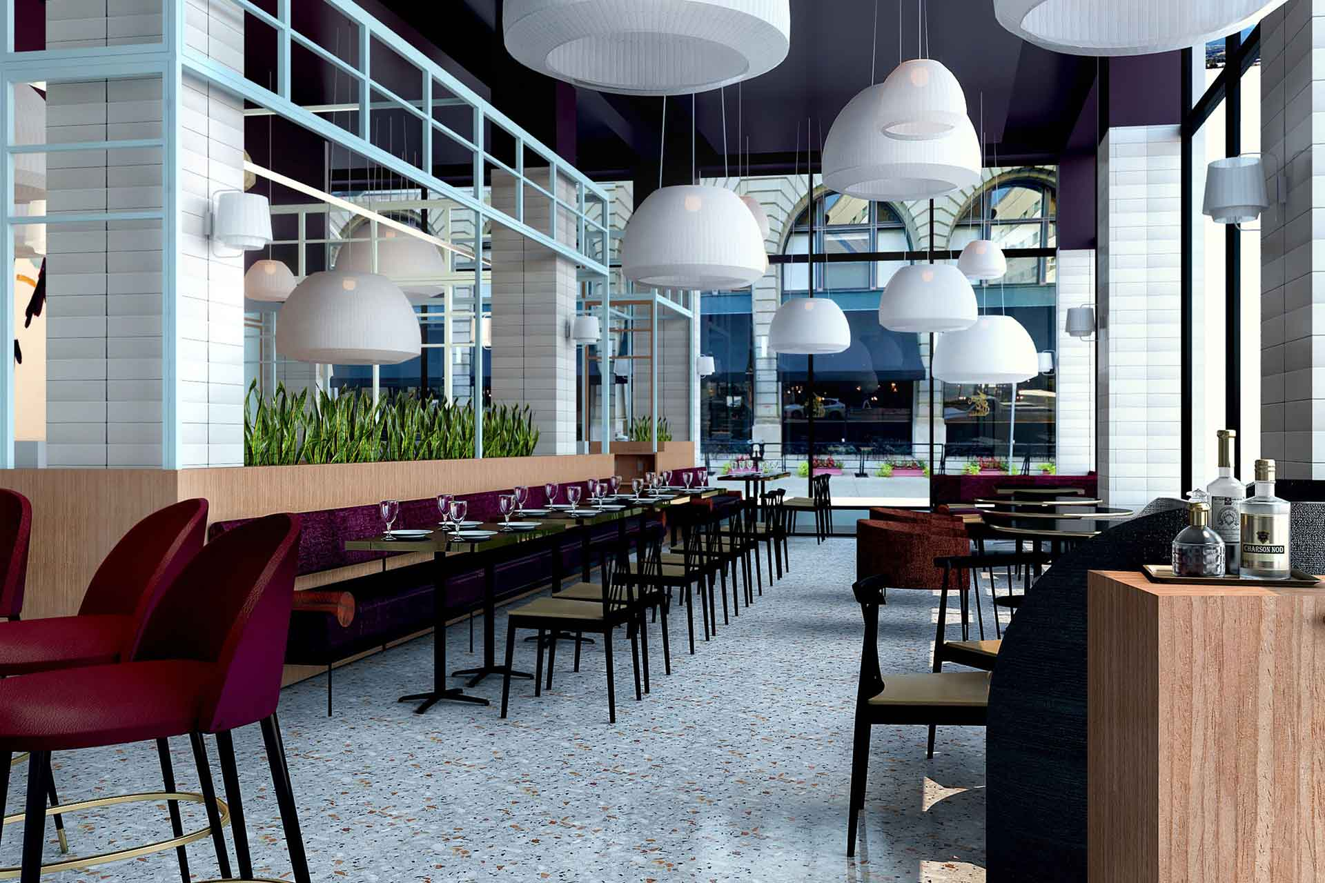 Khora will form the main F&B offer at The Kinley
