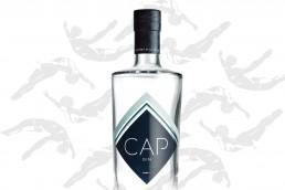 Cap Gin Bottle