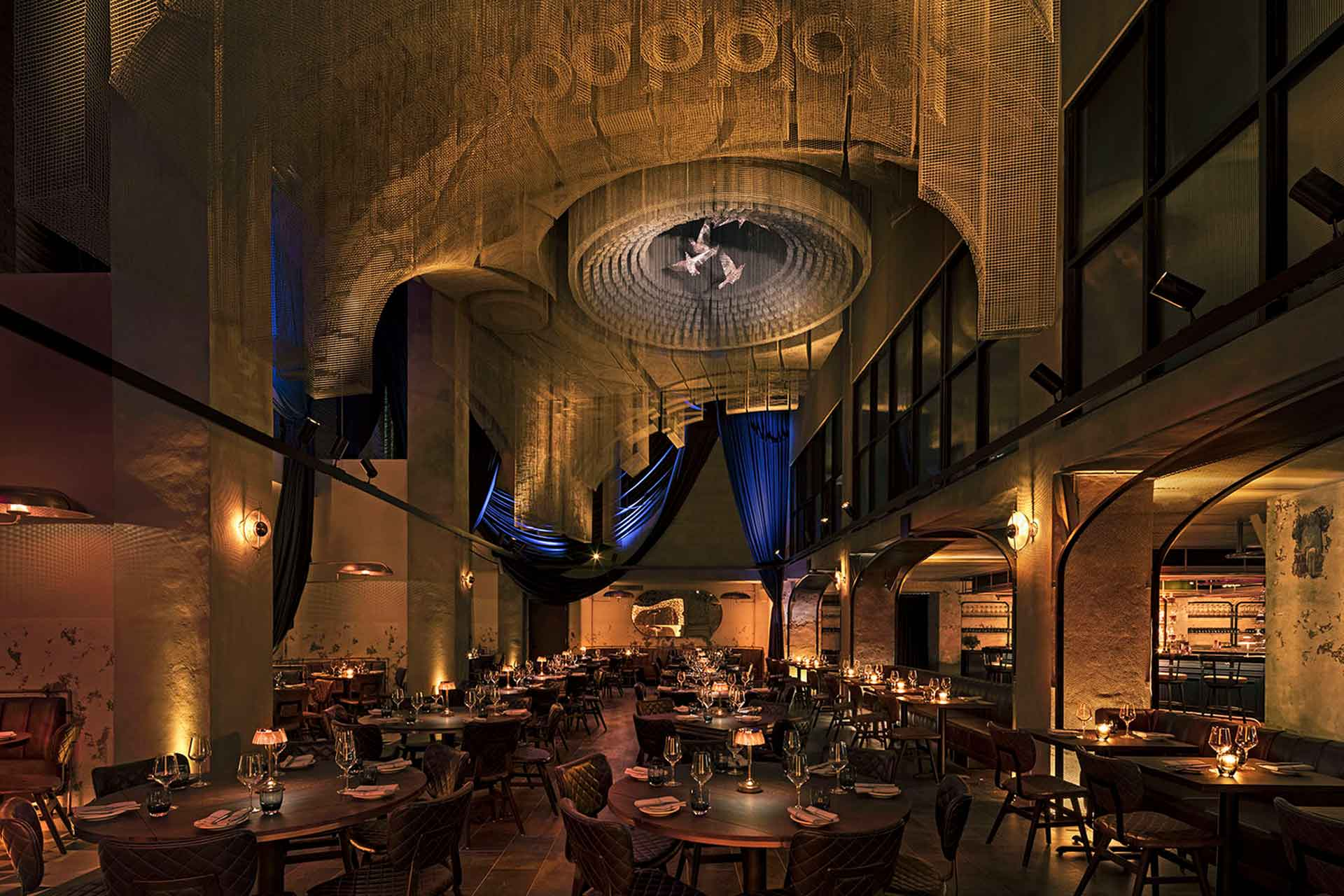 Cathederale Restaurant at Moxy East Village