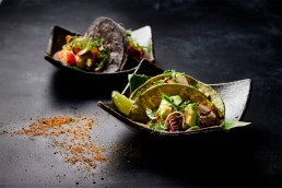 A dish from Hakkasan Group's virtual restaurant, Casa Calavera