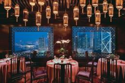 Man Wah restaurant at Mandarin Oriental in Hong Kong