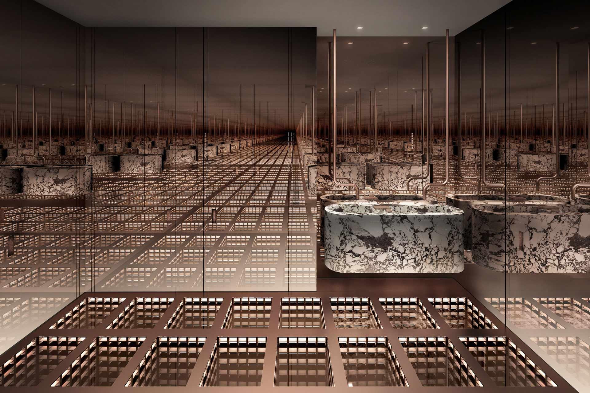 The Secret Room by Paolo Ferrari at Five Palm Jumeirah, Dubai
